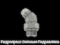 Резьбовые соединения EVW - 45°, с отбортовкой, Нержавеющая сталь