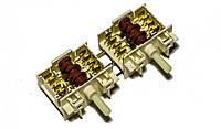 Механический спаренный переключатель мощности конфорок для электроплит Gorenje 617736.