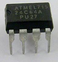 Микросхема ПЗУ 24C64A Atmel (DIP) прошитая для стиральной машины Indesit Ariston