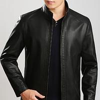 Мужская кожаная куртка. Модель 2004, фото 1