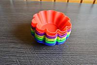 Формы для кексов и корзинок силиконовые