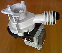 Насос сливной с корпусом 34W для посудомоечной машины Indesit Индезит Ariston Аристон 090537, C00090537, C00054843