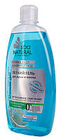 Нежный крем- гель для душа и ванны NATURAL SPA голубой лотос и жасмин 500 мл