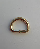 Полукольцо литое 20 мм, золото