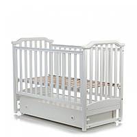 Детская кроватка Mioobaby Caprice White(белая)