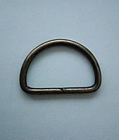 Полукольцо литое 40 мм, антик