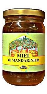 Мед мандариновый Miels Villeneuve, 250г
