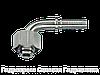 Ниппель коническое уплотнение с кольцом круглого сечения L – легкая серия – yгловые соединения 90°, Нерж.