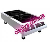 Плита индукционная 2-х конфорочная (7 кВт)