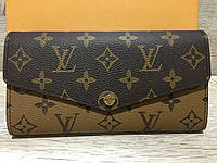Женский кожаный кошелёк Louis Vuitton Луи Виттон
