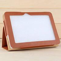 """Чехол со стендом для 7"""" планшета Ainol Novo7 Fire/Flame/Burning коричневый. Доставка Укрпочтой бесплатно."""