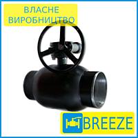 Кран 11с337п Ду100-300 (з редуктором) вода, газ, нафтопродукти