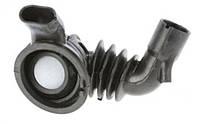 Патрубок от бака к насосу для стиральной машины Bosch Бош, Siemens Сименс 484193