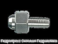 Ниппель Гаечная резьба BSP (DKR) – конус 60° – прямые соединения, Нержавеющая сталь