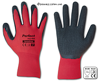 Перчатки защитные Perfect grip red 8, 9, 10, 11