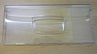 Передняя панель среднего и нижнего ящика морозильной камеры 455х200мм. для холодильника Indesit Ariston C00857274