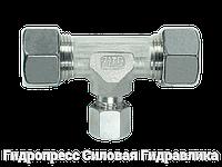 Тройник, Резьбовые соединения TRV - стандартное исполнение, Нержавеющая сталь, фото 1