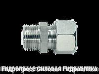 Прямое трубное соединение с конической резьбой, Нержавеющая сталь