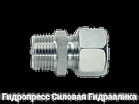 Прямое трубное соединение с конической резьбой, с накидной гайкой типа SC, Нержавеющая сталь