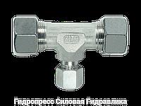 Тройник, Резьбовые соединения TRV - стандартное исполнение, Нержавеющая сталь