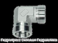 Угловые резьбовые патрубки WV - без накидной гайки и врезного кольца, Нержавеющая сталь
