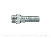 Ниппель трубный Арматура серии Interlock с внешней резьбой, Нержавеющая сталь