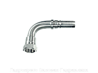 Ниппель трубный Угловые соединения 90°, Нержавеющая сталь