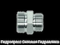 Різьбові патрубки GRV - без накидної гайки і врізного кільця, Нержавіюча сталь