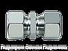Прямые резьбовые соединения GV - стандартное исполнение, Нержавеющая сталь