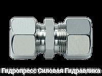 Прямые резьбовые соединения GV - стандартное исполнение, Нержавеющая сталь, фото 1