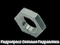 Контргайки для переборочных резьбовых соединений - цилиндрическая резьба, Нержавеющая сталь