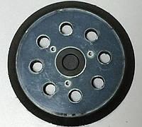 Подошва эксцентриковой (орбитальной) шлифмашинки круглая Ø 125 на 3 винта