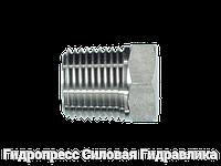 Резьбовые переходники, NPT - внешняя резьба - NPT - внутренняя резьба - форма A, Нержавеющая сталь