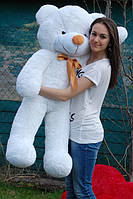 Медведь плюшевый белый 140 см