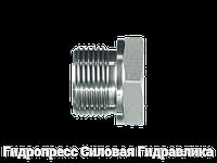 Резьбовые переходники, BSP - внешняя резьба - NPT - внутренняя резьба - форма A, Нержавеющая сталь
