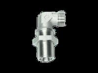 Угловые резьбовые патрубки WSV - без накидной гайки и врезного кольца, Нержавеющая сталь