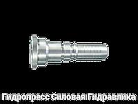 Ниппель трубный Прямые соединения, Нержавеющая сталь, фото 1