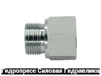 Заглушка шестигранная BSP - внешняя / внутренняя резьба - Form B, Нержавеющая сталь