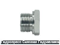 Заглушка шестигранная BSP - внешняя / внутренняя резьба - Form A, Нержавеющая сталь