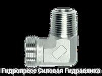 Угловой адаптер BSP - цилиндрическая - внешняя резьба - BSP - коническая - внешняя резьба, Нержавеющая сталь