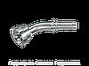 Фланцевый ниппель Угловые соединения 45°, Нержавеющая сталь