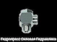 Угловые трубные соединение с кольцом уплотнения - OMD, Нержавеющая сталь