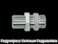 Резьбовые патрубки GSV - без накидной гайки и врезного кольца, Нержавеющая сталь