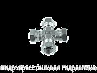 Крестообразное соединение, К-образный адаптер - BSP - внутренняя резьба, Нержавеющая сталь