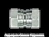 Прямое трубное соединение, Прямой адаптер - BSP - внутренняя резьба, Нержавеющая сталь