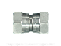 Прямое трубное соединение, Прямой адаптер - BSP - внутренняя резьба, Нержавеющая сталь, фото 1