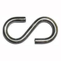 Крючок металлический S-образный 3 мм