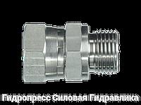 Соединение прямое, BSP - внутренняя резьба - BSP - цилиндрическая резьба, Нержавеющая сталь