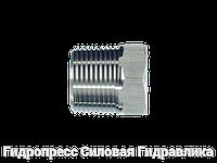 Заглушки BSP - коническая резьба, Нержавеющая сталь, фото 1