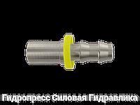 Прессуемый ниппель - L – легкая серия - прямые соединения, Нержавеющая сталь